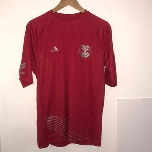 Adidas New YORH Red Bull soccer T Shirt Adult size